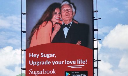 Sugarbook Billboard – Our Very First!!!